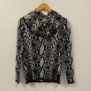 Antonio Melani snake print blouse
